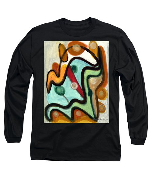 Birds In Flight Long Sleeve T-Shirt by Stephen Lucas