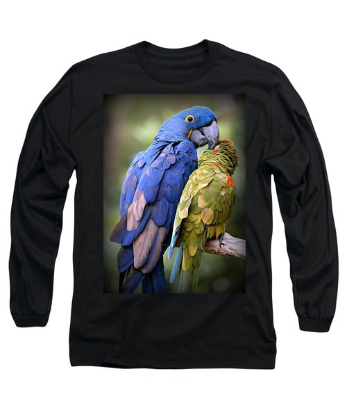 Birds Of A Feather Long Sleeve T-Shirt by Stephen Stookey