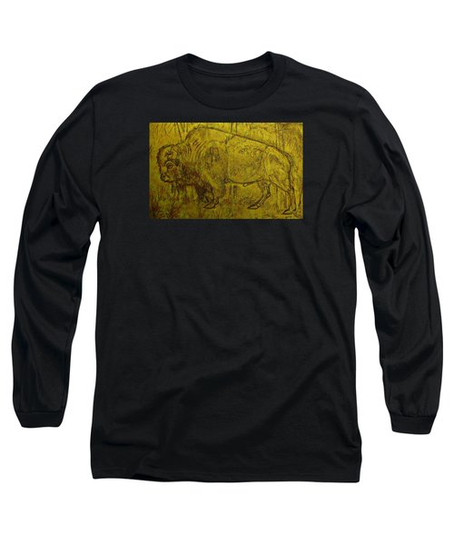 Golden  Buffalo Long Sleeve T-Shirt