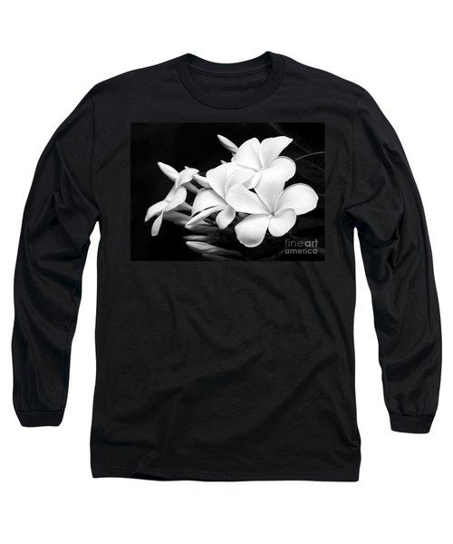 Black And White Lightning Long Sleeve T-Shirt