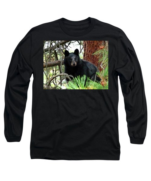 Black Bear 1 Long Sleeve T-Shirt