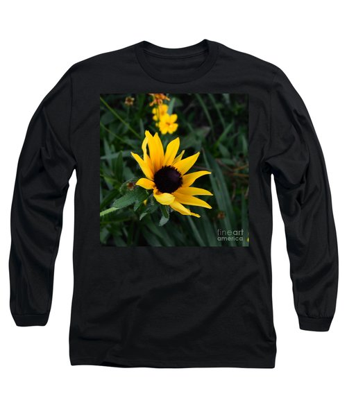 Long Sleeve T-Shirt featuring the photograph Black-eyed Susan Glows With Cheer by Luther Fine Art
