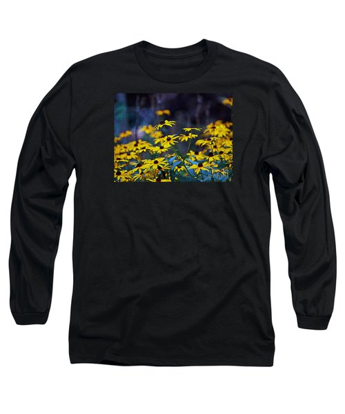 Black-eyed Susans Long Sleeve T-Shirt by Patricia Griffin Brett