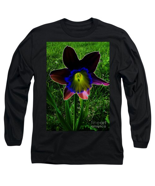 Black Narcissus Long Sleeve T-Shirt