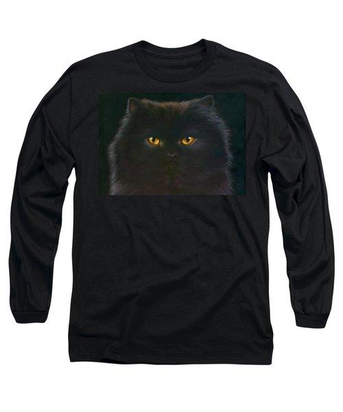 Black Persian Long Sleeve T-Shirt