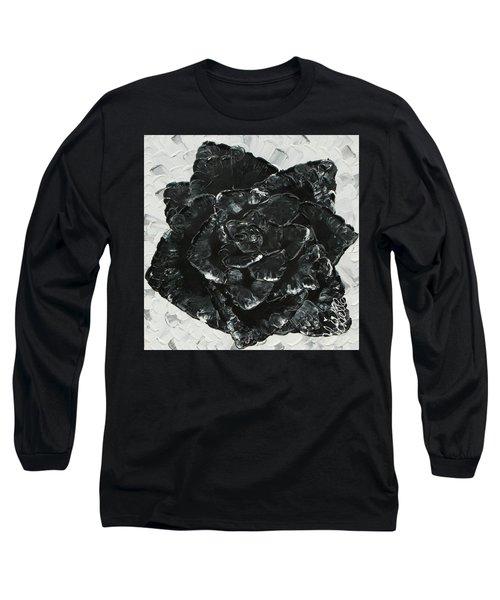 Black Rose I Long Sleeve T-Shirt