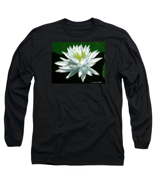 Black Water Beauty Long Sleeve T-Shirt by Anita Putman