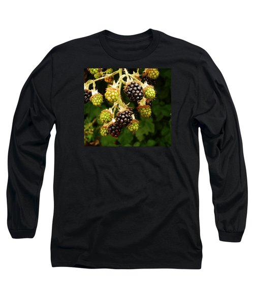 Blackberries Long Sleeve T-Shirt