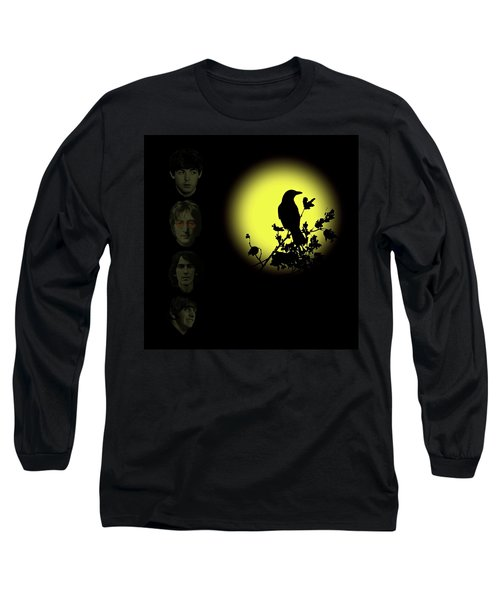 Blackbird Singing In The Dead Of Night Long Sleeve T-Shirt