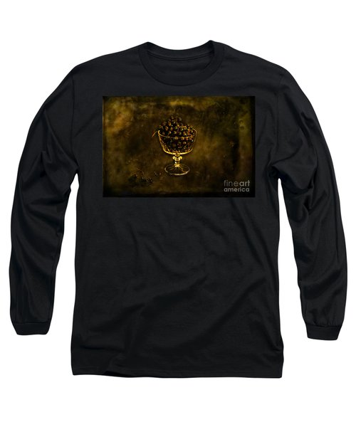 Blackcurrants Long Sleeve T-Shirt by Randi Grace Nilsberg