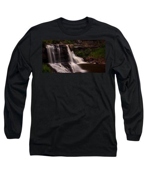 Blackwater Falls Long Sleeve T-Shirt by Shane Holsclaw