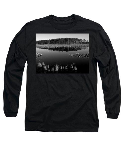 Blackwater  Long Sleeve T-Shirt by Robert Geary