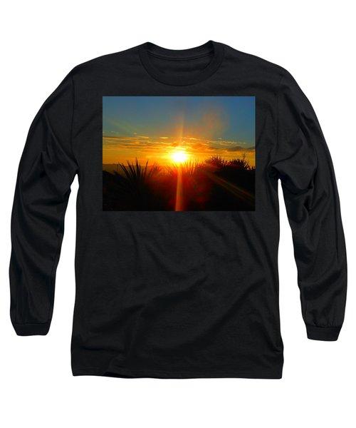 Blaze In The Desert Long Sleeve T-Shirt