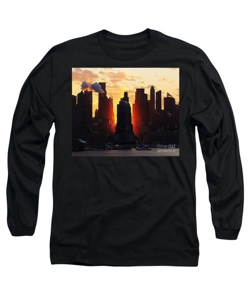 Blazing Morning Sun Long Sleeve T-Shirt