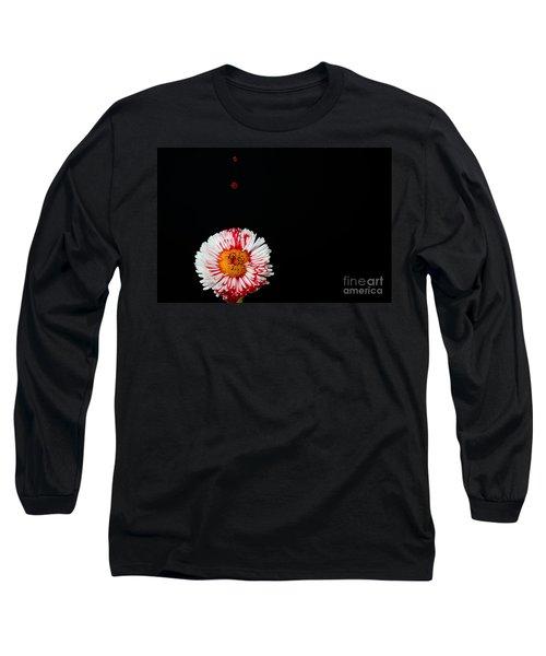Bleeding Flower Long Sleeve T-Shirt