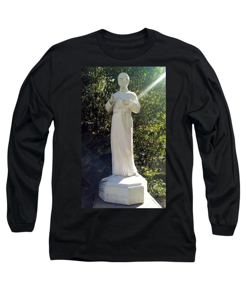 Blessed Francis Xavier Seelos C.ss.r. - New Orleans La  Long Sleeve T-Shirt by Deborah Lacoste