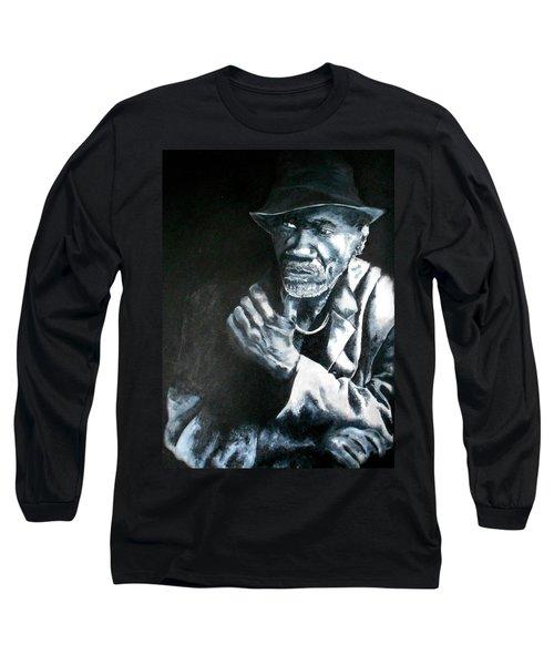 Blind Man Of Hindi Long Sleeve T-Shirt