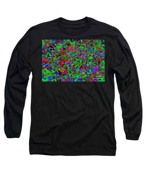 Bloingle Long Sleeve T-Shirt by Mark Blauhoefer