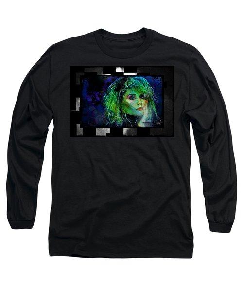 Blondie - Debbie Harry Long Sleeve T-Shirt