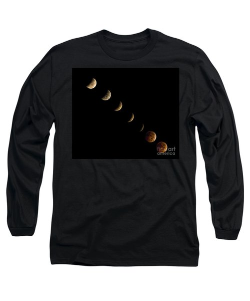 Blood Moon Long Sleeve T-Shirt by James Dean