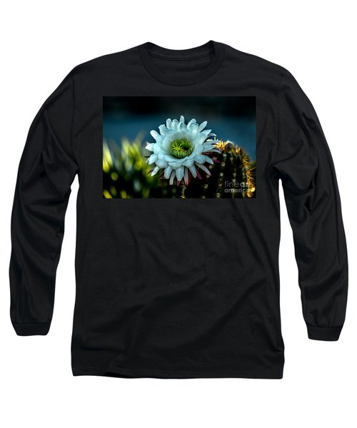 Blooming Argentine Giant Long Sleeve T-Shirt by Robert Bales
