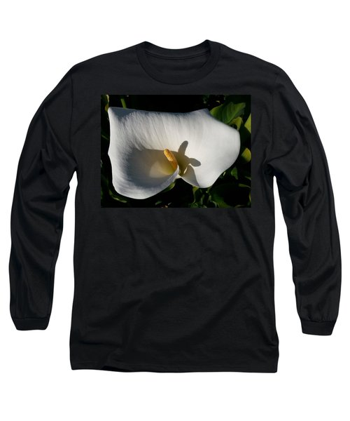Blooming Lily Of San Francisco Long Sleeve T-Shirt by Emmy Marie Vickers
