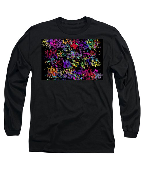 Blorks Long Sleeve T-Shirt by Mark Blauhoefer
