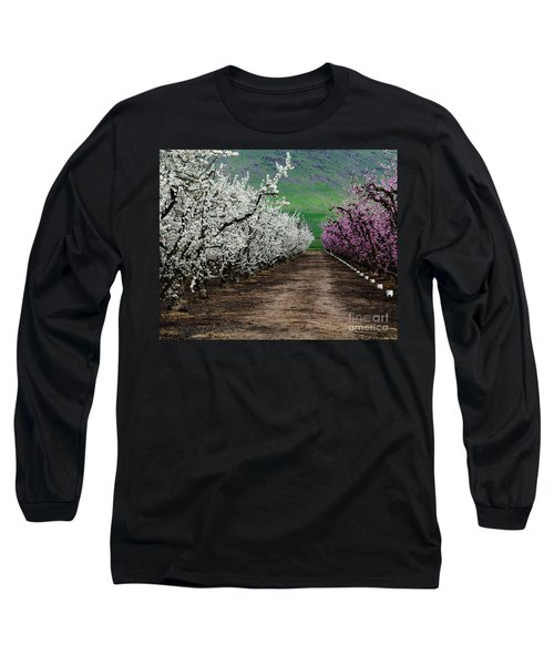 Blossom Standoff Long Sleeve T-Shirt by Terry Garvin