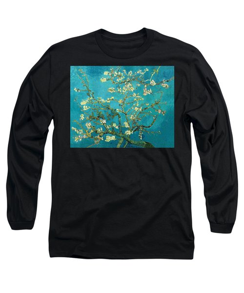 Blossoming Almond Tree Long Sleeve T-Shirt