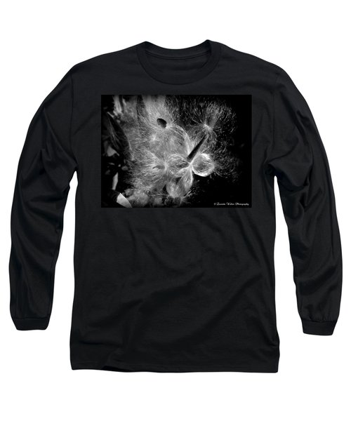 Long Sleeve T-Shirt featuring the photograph Blowing In The Wind by Lucinda Walter