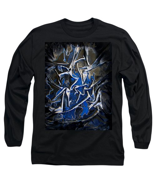 Blue And Silver Dancers Long Sleeve T-Shirt