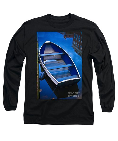 Blue Boat Long Sleeve T-Shirt
