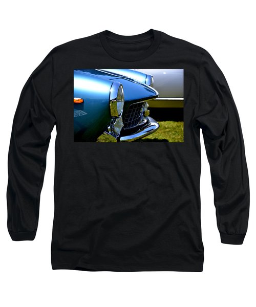 Long Sleeve T-Shirt featuring the photograph Blue Car by Dean Ferreira