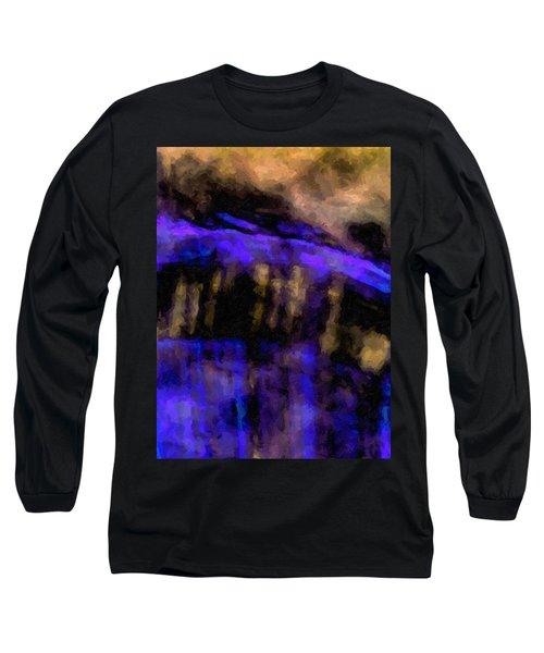 Blue Cliff Long Sleeve T-Shirt