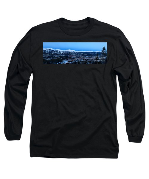 Blue Hour In Breckenridge Long Sleeve T-Shirt by Ronda Kimbrow