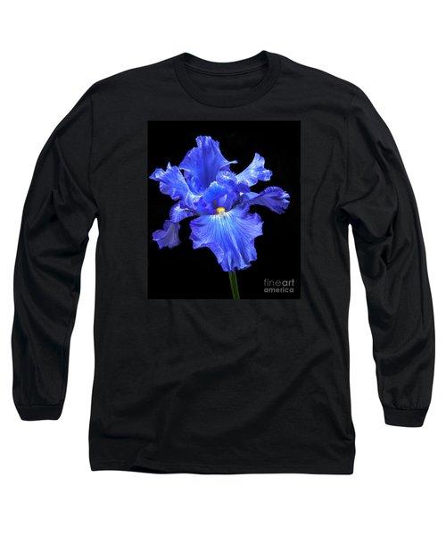 Blue Iris Long Sleeve T-Shirt