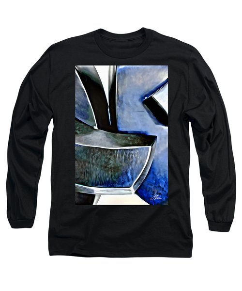 Blue Iron Long Sleeve T-Shirt by Joan Reese