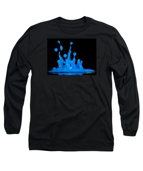 Blue Man Group Long Sleeve T-Shirt by Anthony Sacco