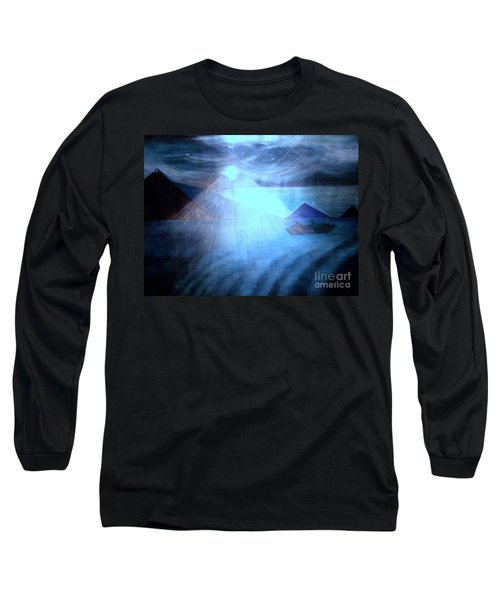 Blue Moon Sailing Long Sleeve T-Shirt