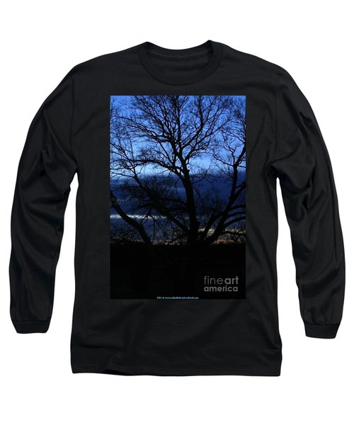 Blue Moon Sunrise Long Sleeve T-Shirt by PainterArtist FIN