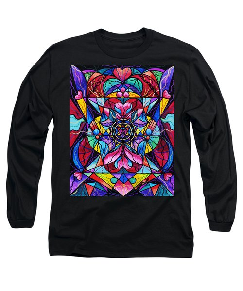 Blue Ray Healing Long Sleeve T-Shirt
