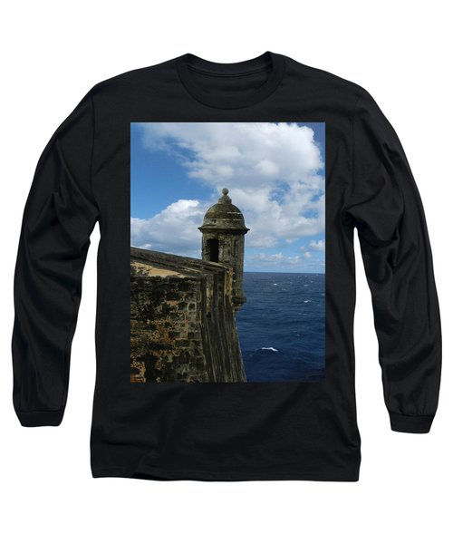 Blue Skies On The Horizon Long Sleeve T-Shirt