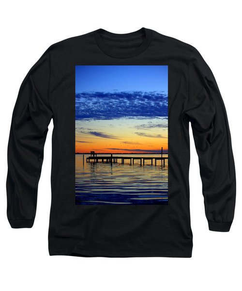 Long Sleeve T-Shirt featuring the photograph Blue Sky by Faith Williams