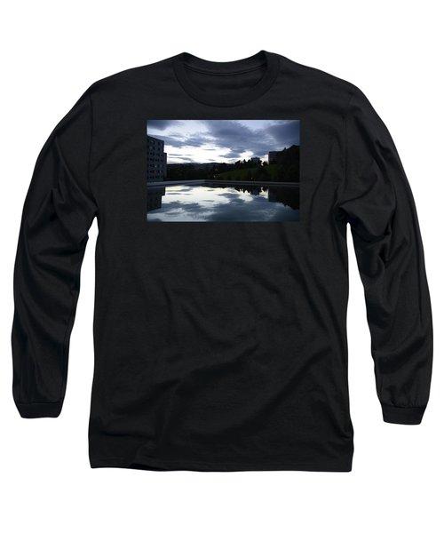 Blue Visions 1 Long Sleeve T-Shirt by Teo SITCHET-KANDA