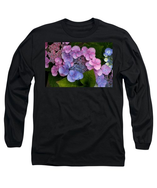 Blueberries And Cream Long Sleeve T-Shirt