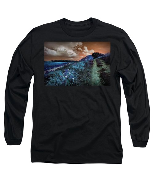 Bluegrass Long Sleeve T-Shirt by Linda Unger