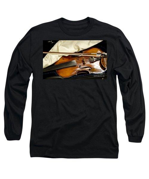 Bluegrass Magic Long Sleeve T-Shirt by Wilma  Birdwell
