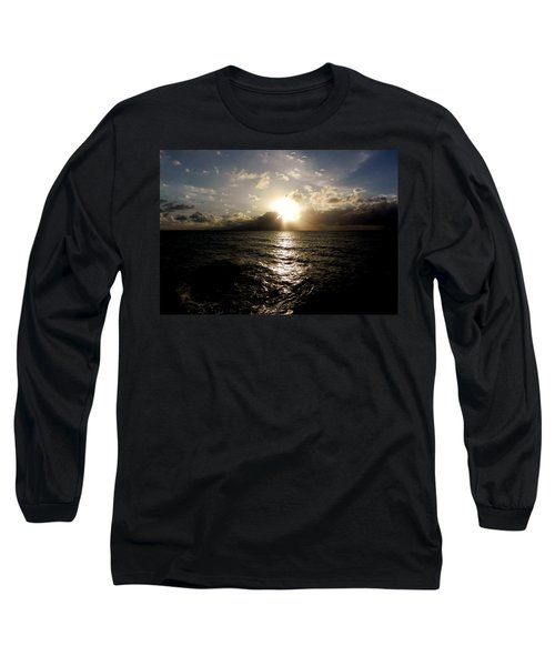Long Sleeve T-Shirt featuring the photograph Blues @ Evening by Amar Sheow