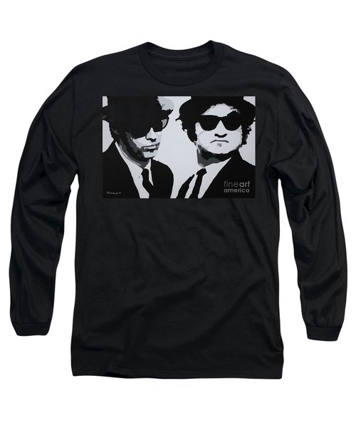 Blues Brothers Long Sleeve T-Shirt by Katharina Filus