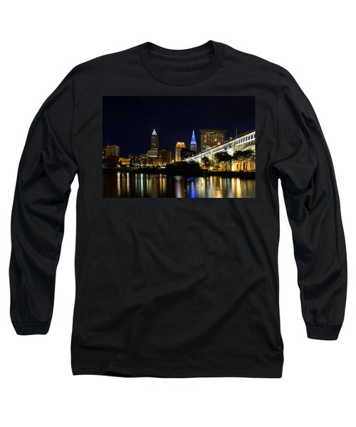 Blues In Cleveland Ohio Long Sleeve T-Shirt